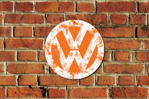 VW Metal Sign
