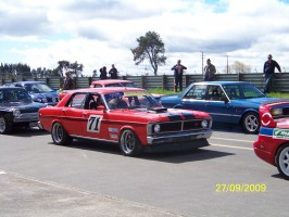 Ford Muscle Car Club Track Day