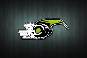 Kiwi on Wheels Vinyl Decal Sticker