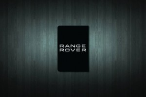 Range Rover Euro Style Number Plate Sticker
