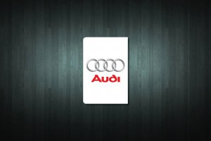 Audi Euro Style Number Plate Sticker