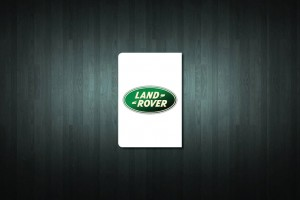 Land Rover Euro Style Number Plate Sticker