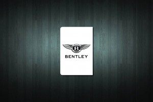 Bentley Euro Style Number Plate Sticker