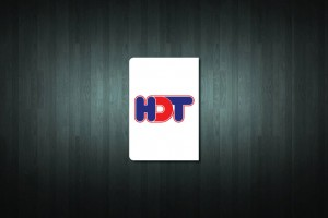 HDT Euro Style Number Plate Sticker
