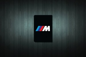 BMW M Sport Euro Style Number Plate Sticker