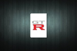 GT-R Euro Style Number Plate Sticker